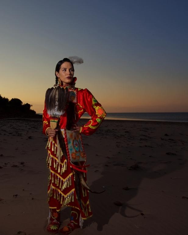 Mikmaw Jingle Dress Dancer